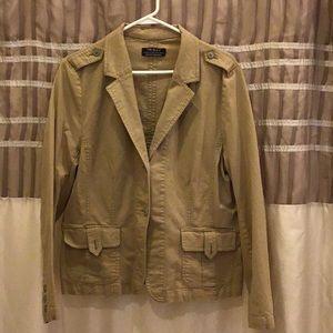 Tribal tan jacket size 16